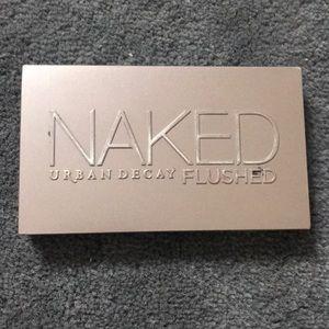Used Naked flushed bronzer palette